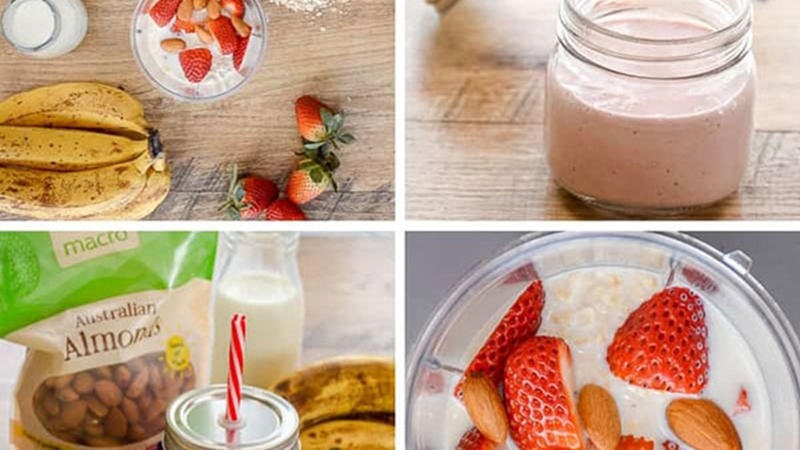 Healthy Fruit Breakfast Smoothies 600Wide