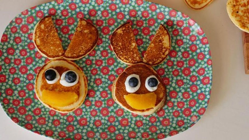 Easter Bunny Pikelets 800X450