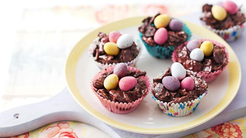 Easter Egg Nests 800X450