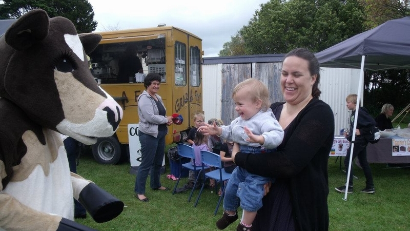 A moovellous welcome - Springdale School's Livestock Day