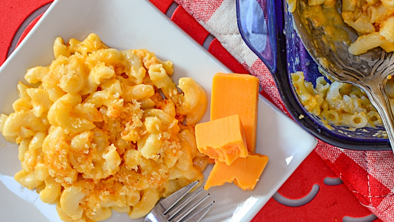 Easy Homemade Macaroni Cheese